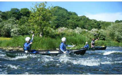 Celtic Adventures canoeing
