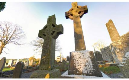 Monasterboice High Cross and Tower - high crosses