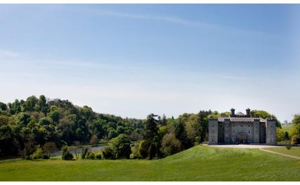 Slane Castle - from the hill
